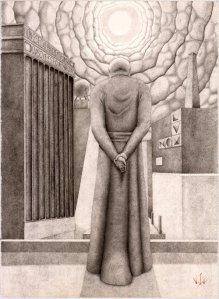 ante edicto, 11x14 print, $30